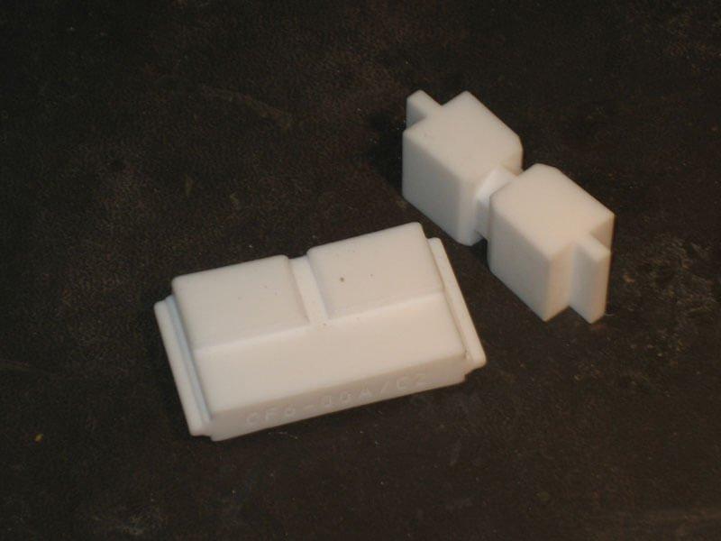Teflon frezen PTFE frezen - Bespex kunststof bewerking