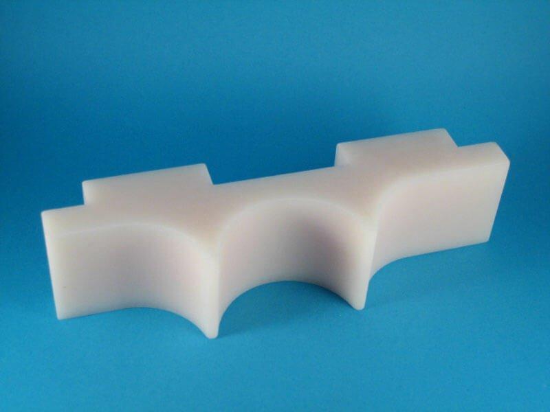 PA6-frezen nylon frezen - Bespex kunststof bewerking