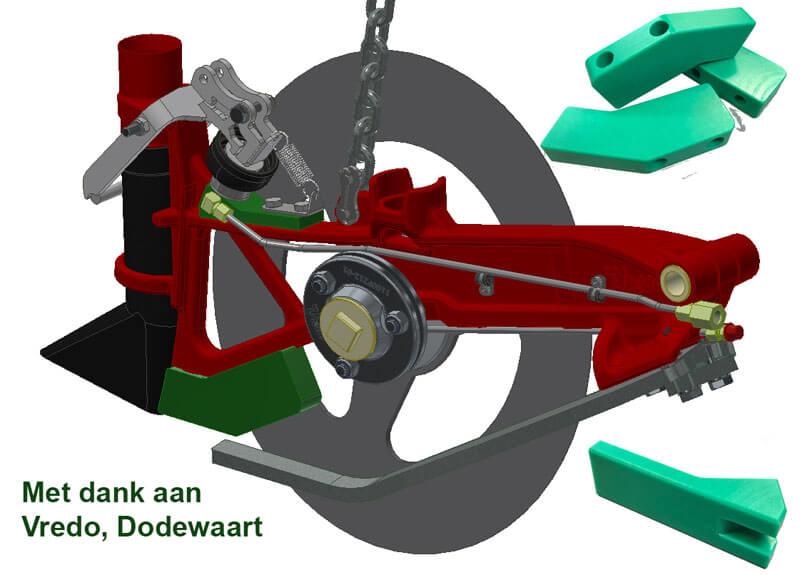 HMPE parts Vredo Dodewaard - Bespex kunststof bewerking